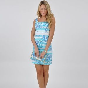⭐️NWT⭐️ Lilly Pulitzer Blue & White Serena Dress 2